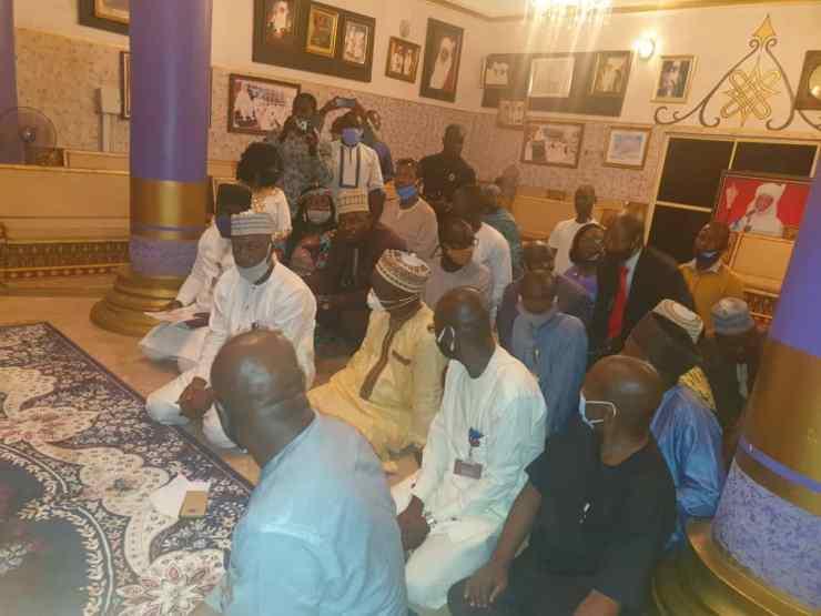 PHOTO NEWS: Emir Sulu-Gambari receives FRCN Zonal Director in Ilorin