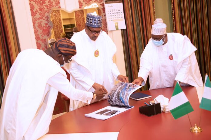 Buhari receives Pictorial Reports on aftermath of Lagos #EndSARS protest