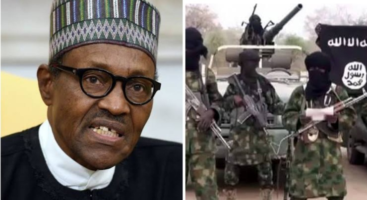 Buhari describes as insane Boko Haram killing of farmers in Borno
