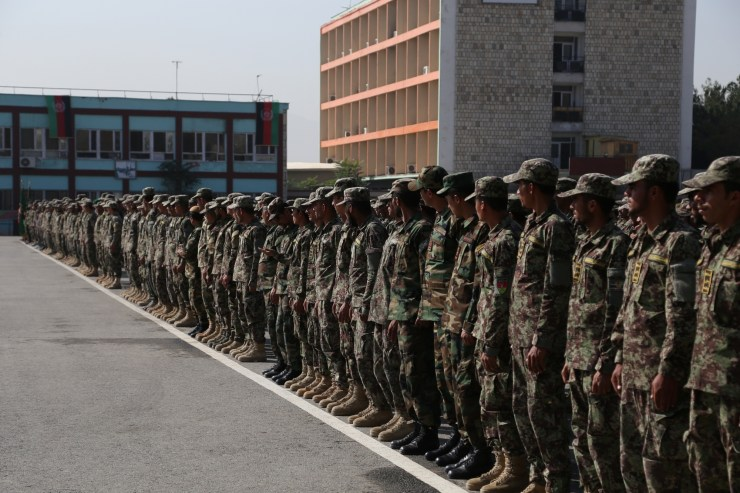 1,279 trained Afghan youths including 200 women join army