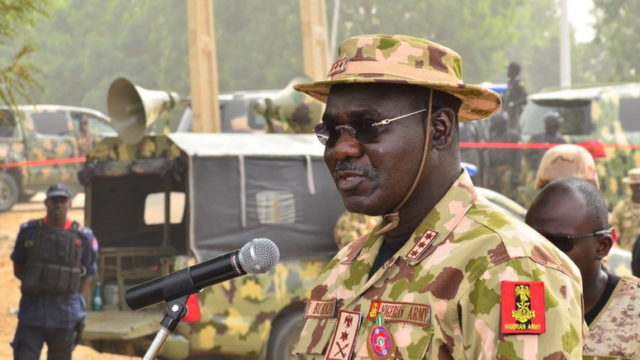 Nigerian Army inducts eight locally made combat vehicles – Buratai