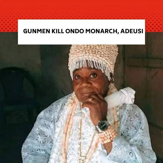 SAD...Kidnappers kill another prominent traditional ruler