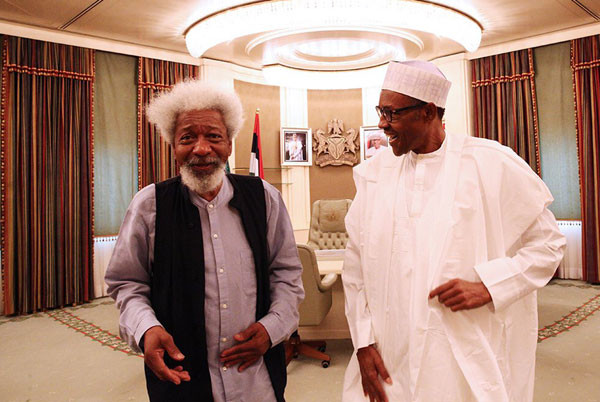Buhari is not in control, kidnap of schoolboys in his home state is a slap on his face - Soyinka