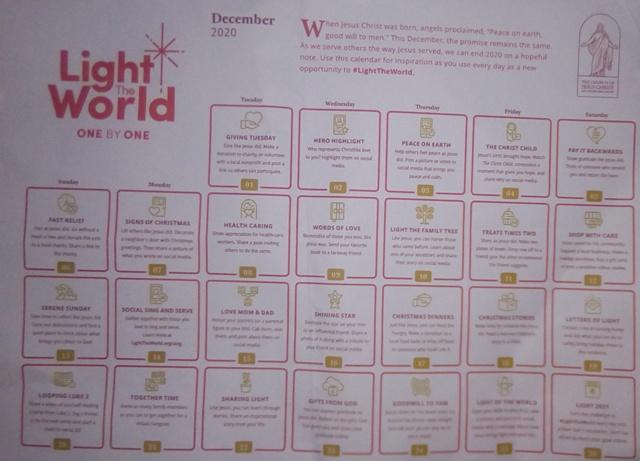 Christmas: Church urges public to #LightThe World