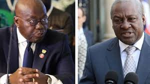 Ghanaians to vote in tight race between incumbent and former president