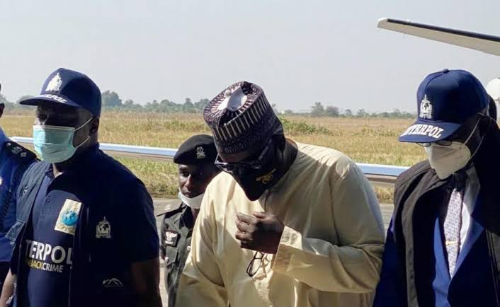 Maina remanded in Kuje Prison as counsel withdraws from case