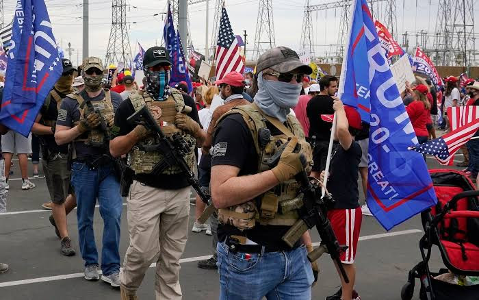 '4000 armed Trump supporters are plotting to surround the US Capitol, disrupt Biden's inauguration and prevent Democrats from going in' - Lawmaker reveals