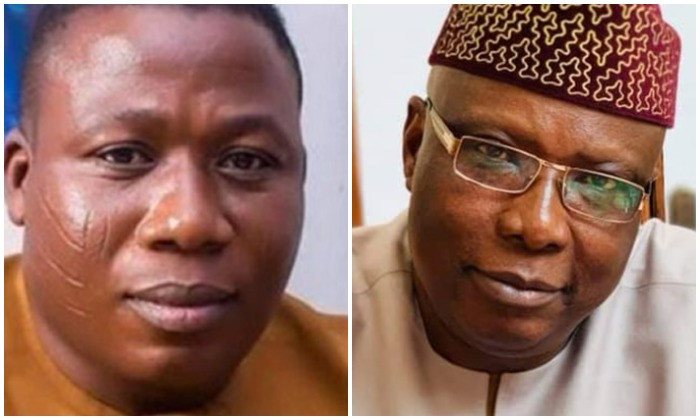 You are a liar — Sunday Igboho reacts to President Buhari's special adviser, Babafemi Ojudu's claim of him being hired to rig Ekiti election