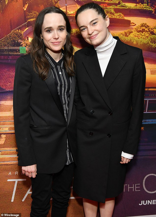 Juno star, Elliot Page (Ellen Page) files for divorce from wife of three-years Emma Portner after publicly coming out as transgender