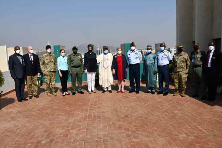 U.S Air Force partners Nigerian Defence on technology to fight against insecurity