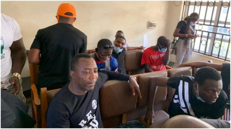 BREAKING: Sowore, four others thrown into Kuje prison