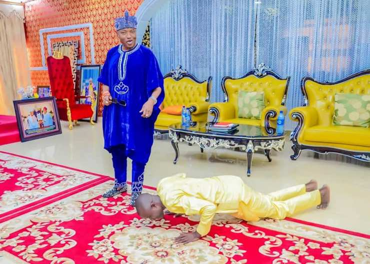 (PHOTOS) Check out new look of Oluwo of Iwo as media gives amazing revelations