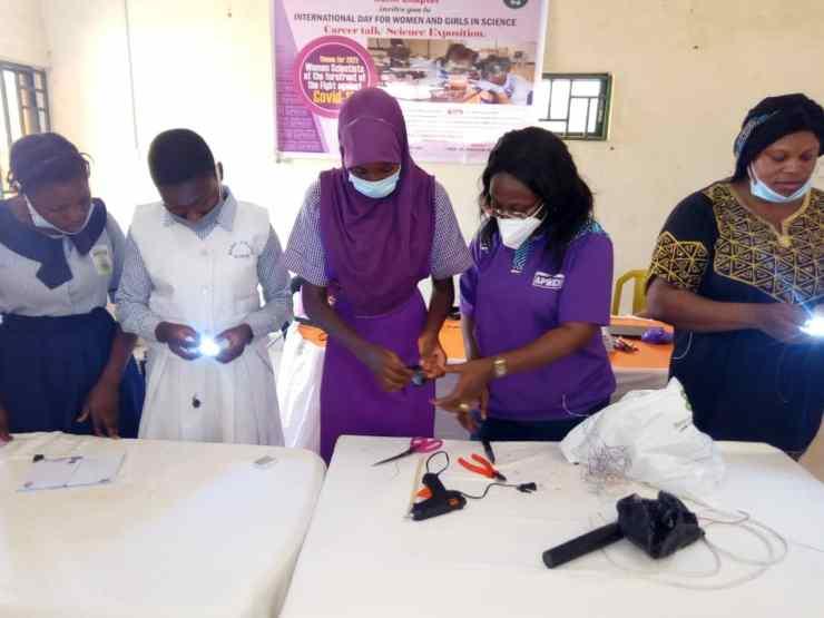 Women Engineers train secondary school girls on Engineering, Sciences