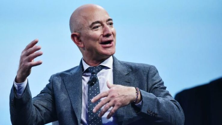Jeff Bezos regains his position as world's richest after two weeks at No. 2