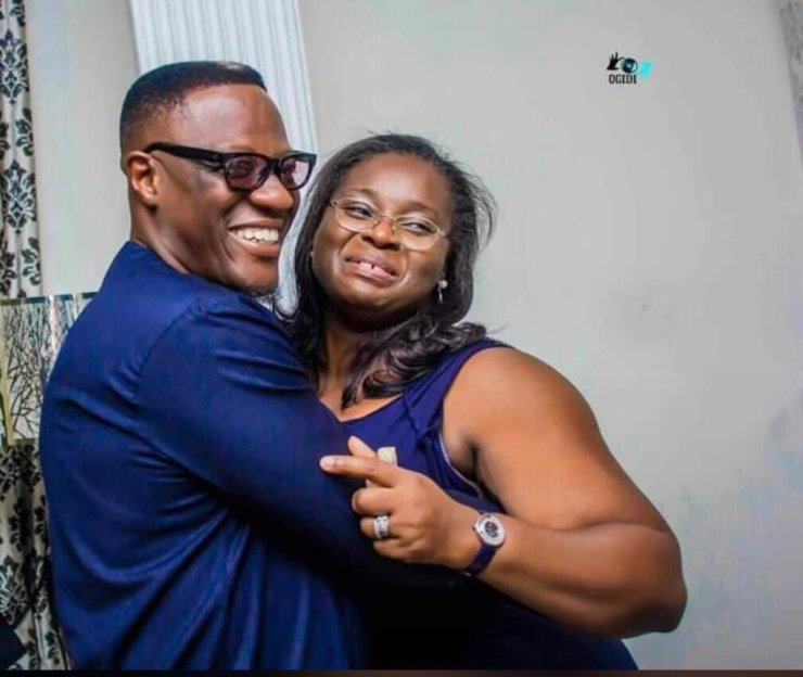 Kwara former Gov, Ahmed Welcomes Baby boy with Wife