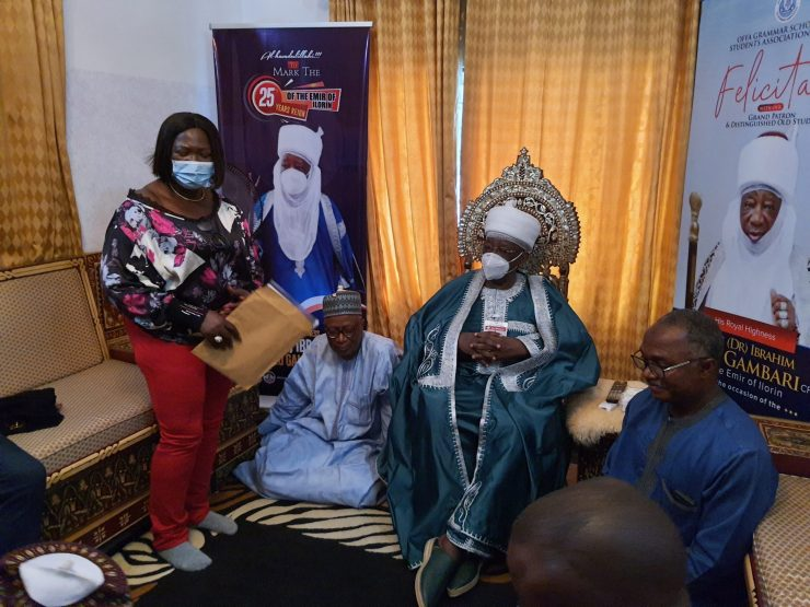 (PHOTOS) We're ready to celebrate KAM Holding CEO, UNICAL VC tells Emir of Ilorin