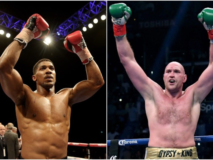 'To the world, we're bringing it!' - Anthony Joshua confirm his mega-fight with Tyson Fury will happen in June