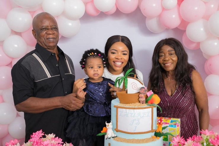Photos from Laura Ikeji Kanu's daughter's first birthday party