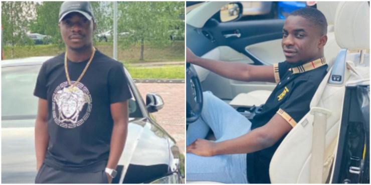 """MC Oluomo's son blasts IG user who said his father is a 'thief, illiterate and a killer"""""""
