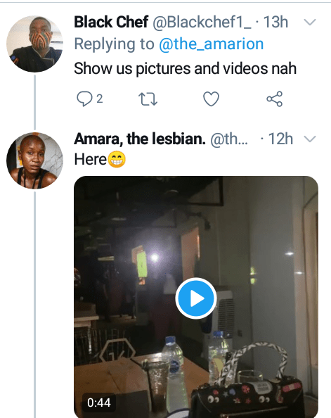 """""""The gays are taking over"""" - Nigerian lesbian, Amara declares after an LGBT gathering in Abuja where they ''ate, drank and kissed'' (videos)"""
