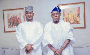 Obasanjo lauds Kogi Gov Bello for good governance, tackling insecurity
