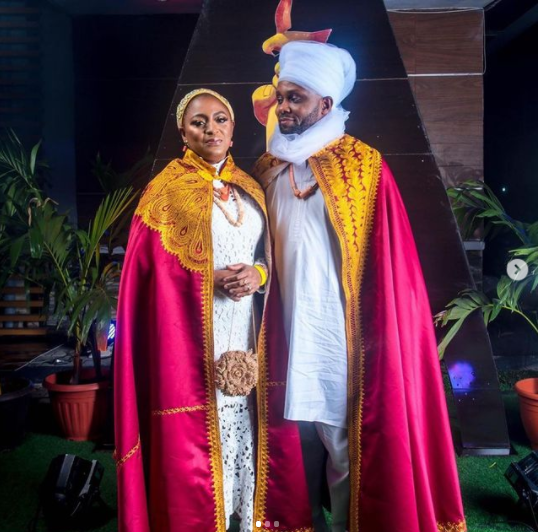 See how your favourite celebs showed up for the premiere of the 'Coming 2 America' in Lagos (photos)