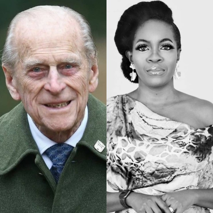 Prince Philip can not rest in peace-- Media personality Shade Lapido