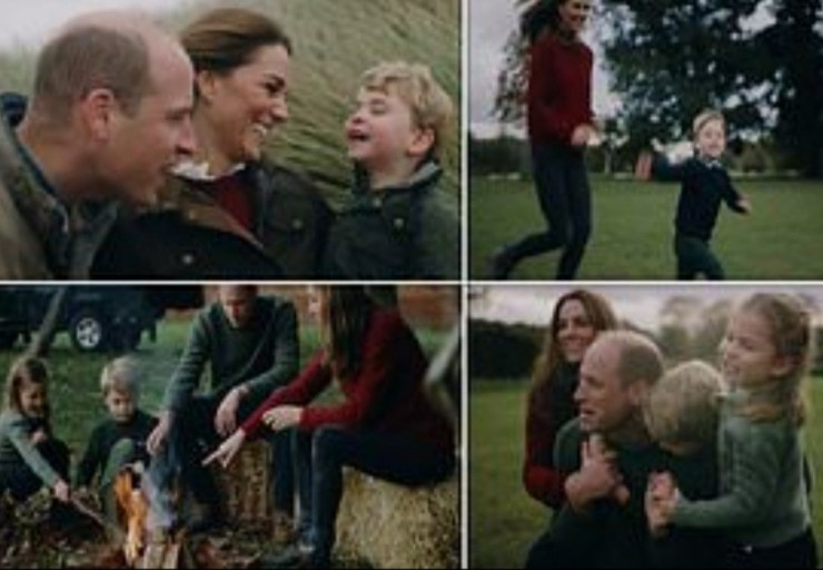 Prince William and Kate release mark 10th wedding anniversary with family video