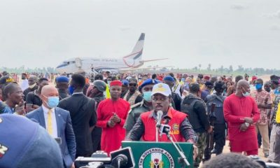 Air Peace makes history as 1st airline to land in Anambra Airport