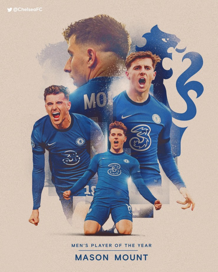 Mason Mount named 2020-21 Chelsea Player of the Year