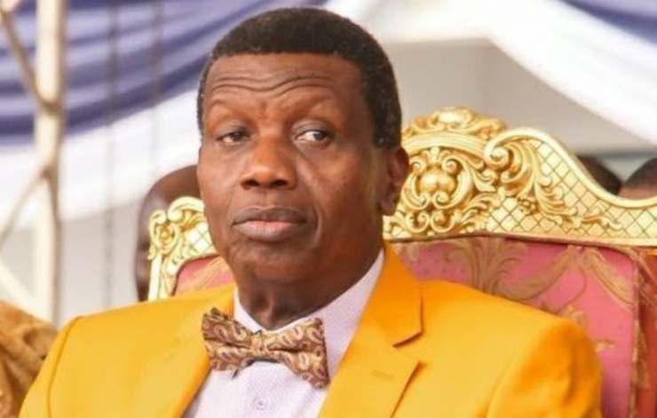 It is well -- Pastor Adeboye reacts to son's death