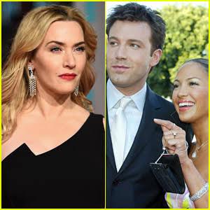 Actress, Kate Winslet gives startling reaction when asked about Jennifer Lopez and Ben Affleck's rekindled relationship