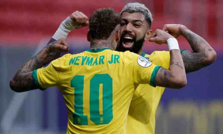 Neymar on target as Brazil rout Venezuela in Copa America opener