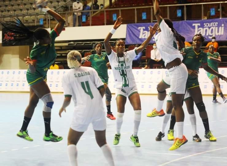 Africa Women Handball Championship: Nigeria romps into Q-finals against Cameroon