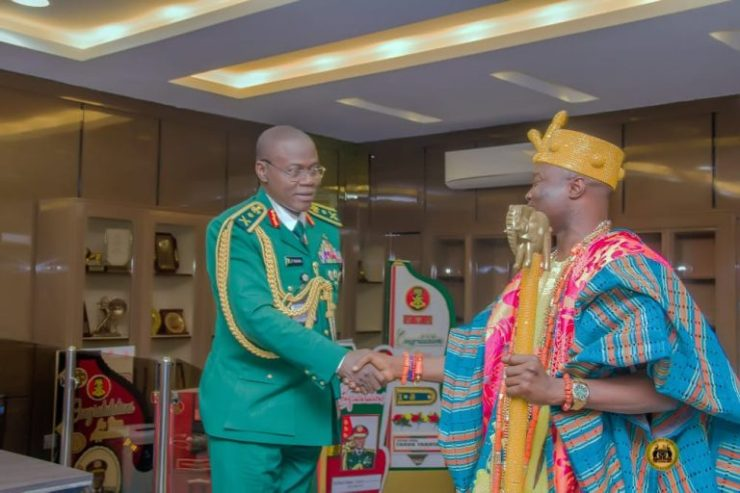 COAS commends traditional rulers' roles in national unity