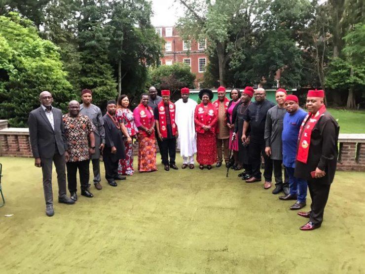 Insecurity: Nigeria's UK envoy meets Igbo, Yoruba leaders in London