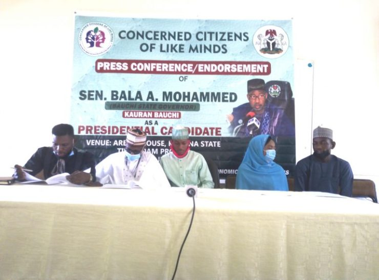 Group urges Bauchi governor to join 2023 presidential race