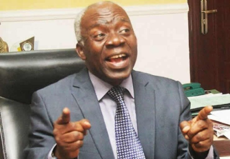 We are in trouble if INEC is not allowed to transmit election results electronically - Falana
