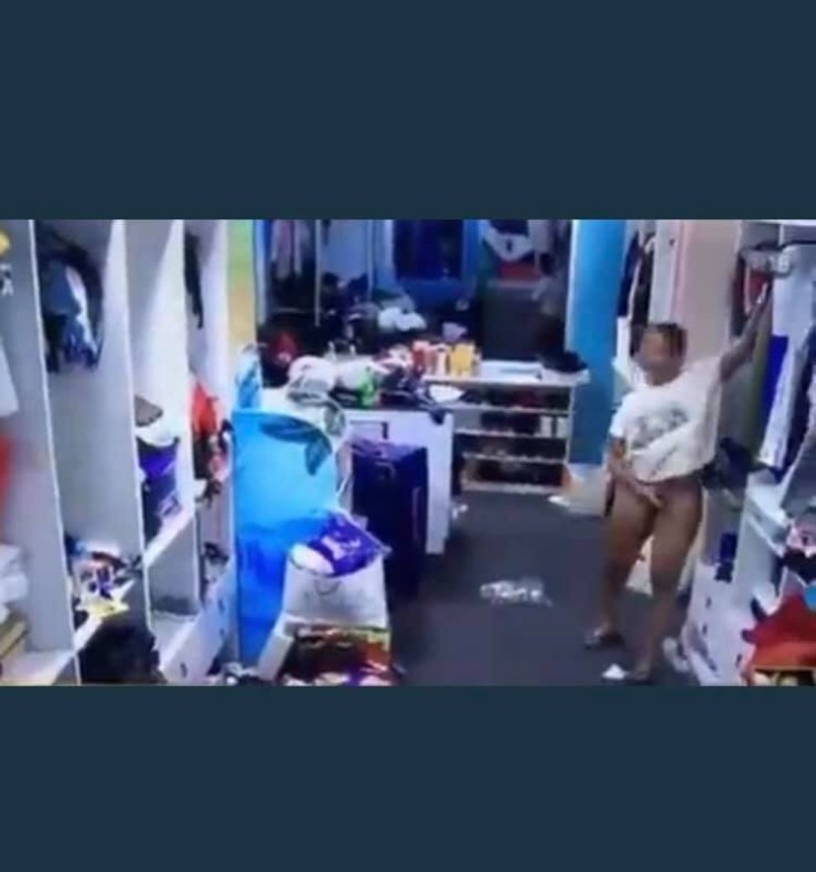 #BBNaija: She is a marketer - Whitemoney says to Angel (video)