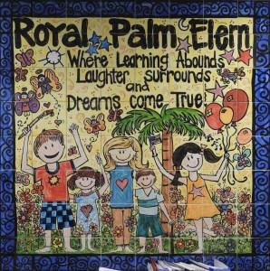 Royal Palm Mural