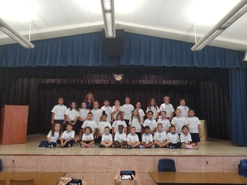 Students of the Month for Citizenship