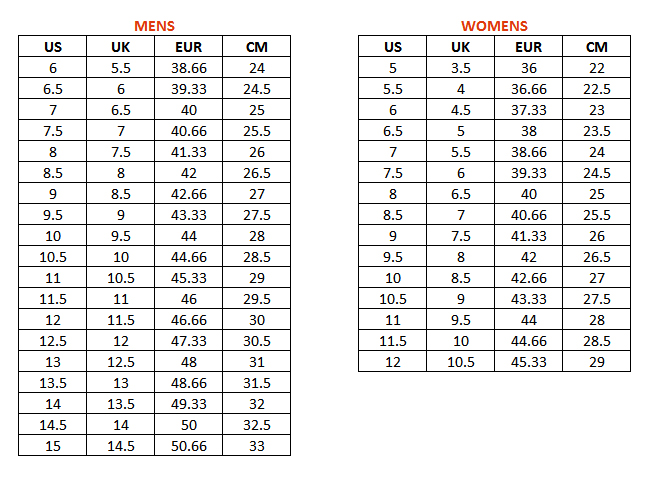 yeezy sizing for women