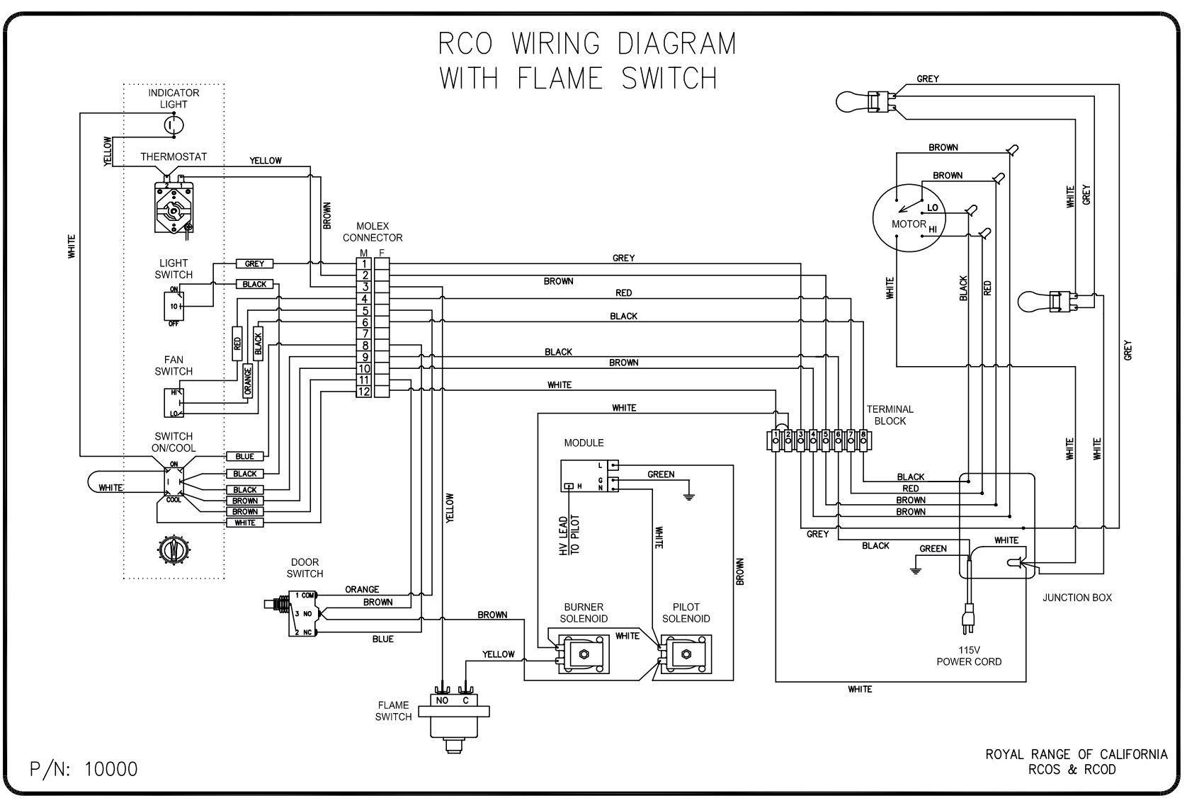 A Circuit Diagram Of A Torch