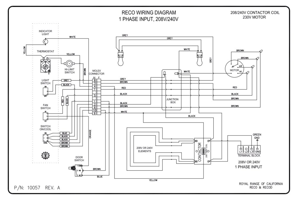 medium resolution of wiring diagrams royal range of californiawiring diagram for oven 4