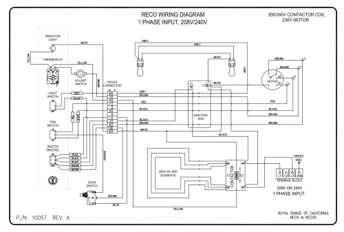 small resolution of wiring diagrams royal range of california rh royalranges com electric oven wire diagram
