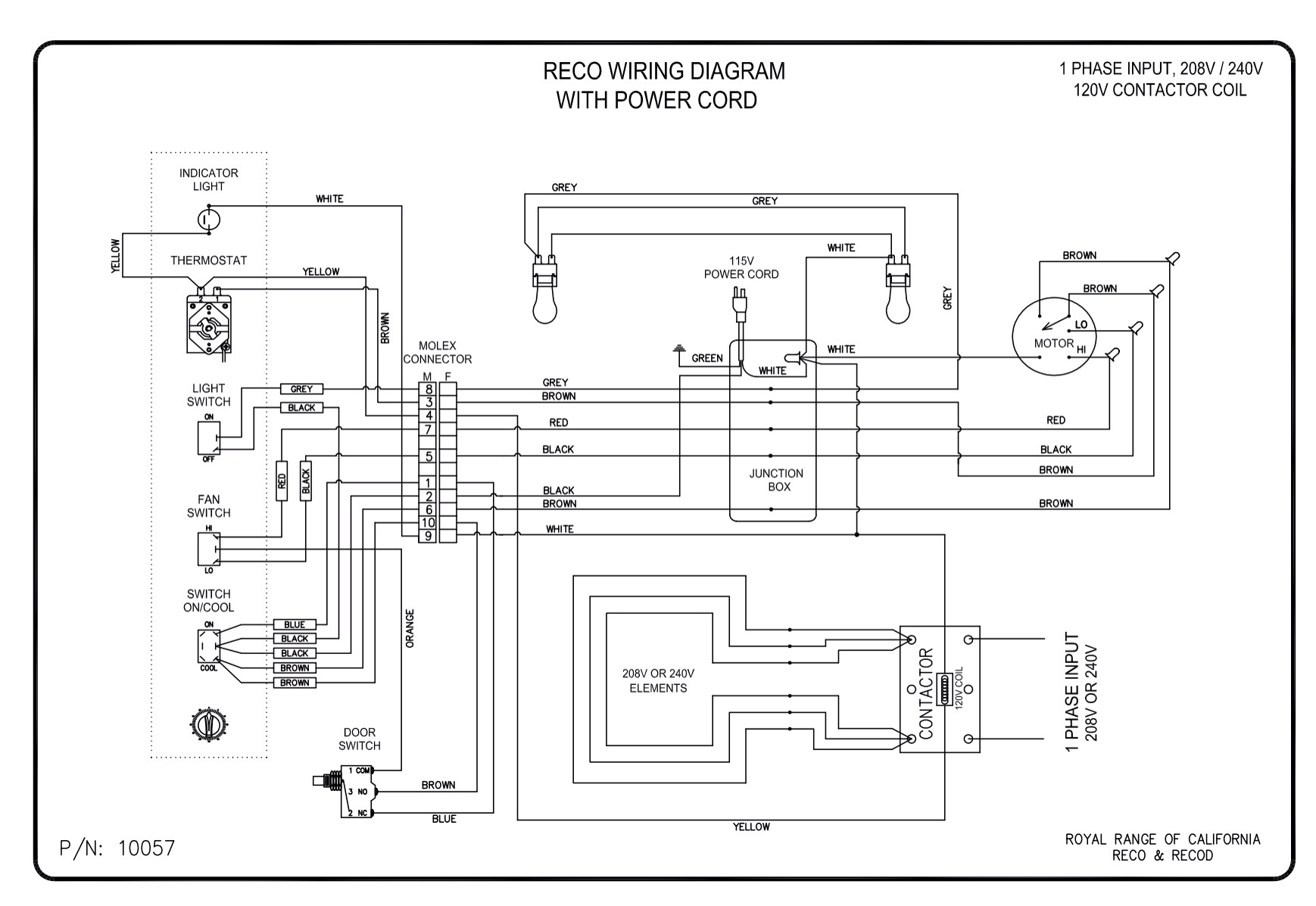 electrical wiring diagram of rice cooker relay 4 pole diagrams royal range california