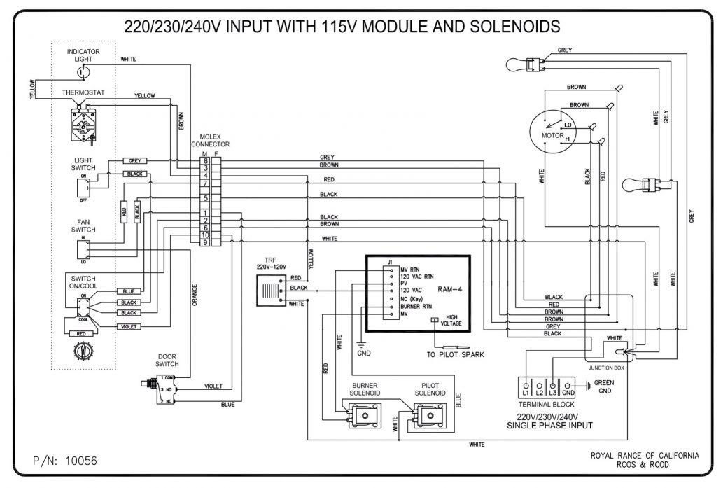 control machine motor wiring