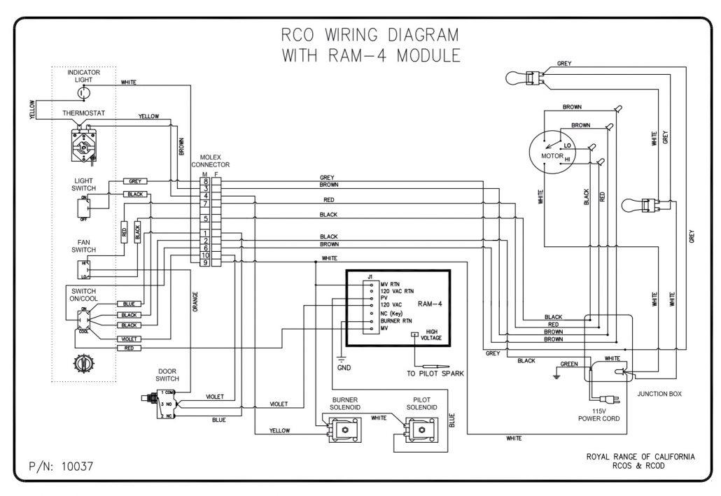 8400series 4wire wiring diagram