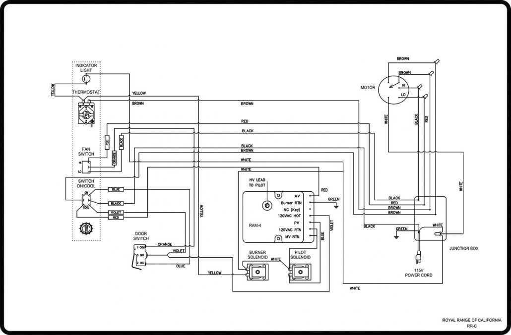 Electric Stove Schematic Wiring Diagram Diagram Base