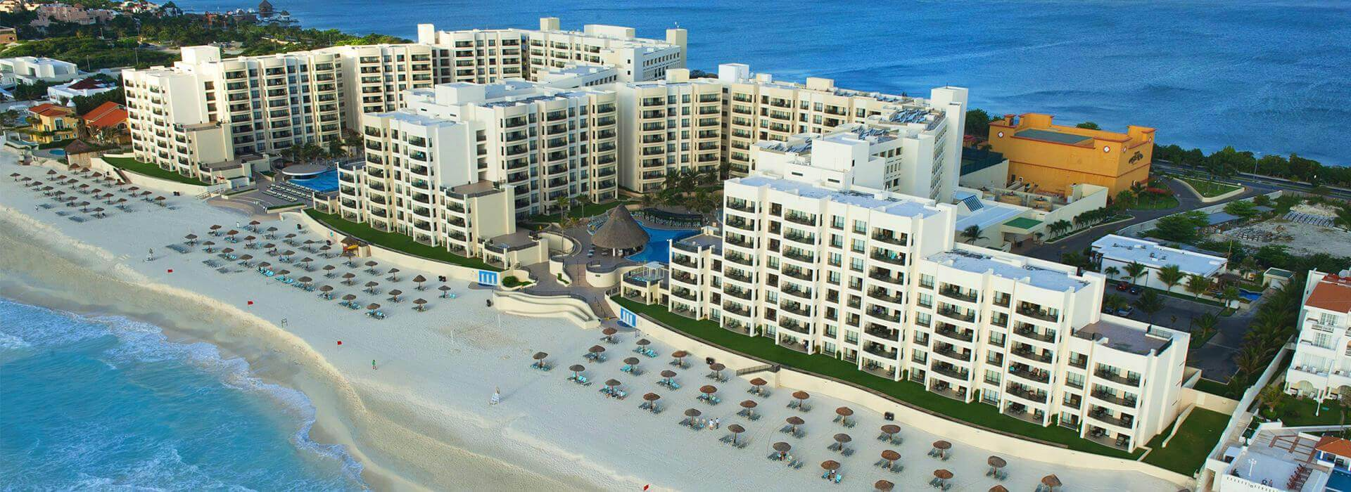 the royal sands all inclusive resort spa air view